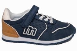 zapatillas mustang azul y marron 47707 | Mysweetstep
