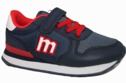 zapatillas mustang azul y rojo 47731 | Mysweetstep
