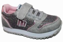 zapatillas mustang plata rosa glitter 47601 Mysweetstep