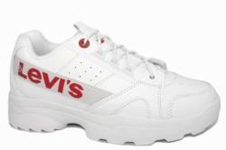 zapatillas plataforma Levis soho blanco | Mysweetstep