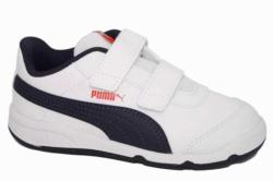 zapatillas puma stepfleex2 blanco y azul | Mysweetstep
