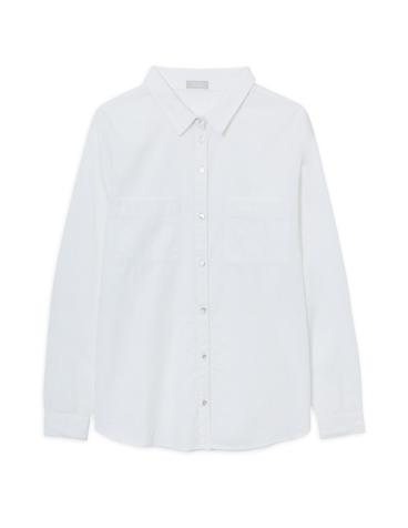 Camisa de piqué de algodón