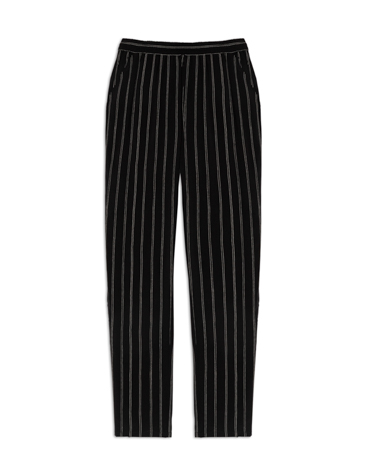 Flowing print trousers