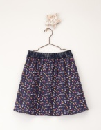 Falda cinturilla elástica floral - Ítem