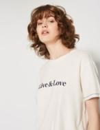 Camiseta con mensaje - Ítem