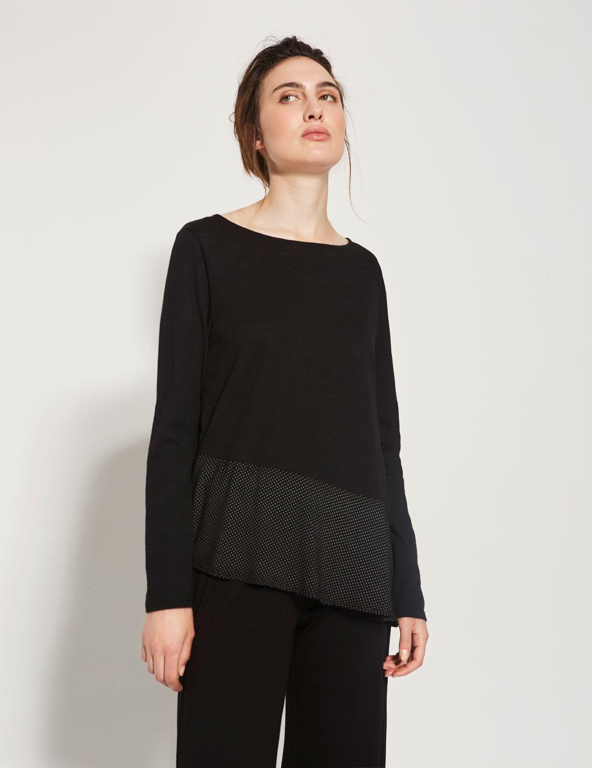 Camiseta bajo asimétrico - Ítem1