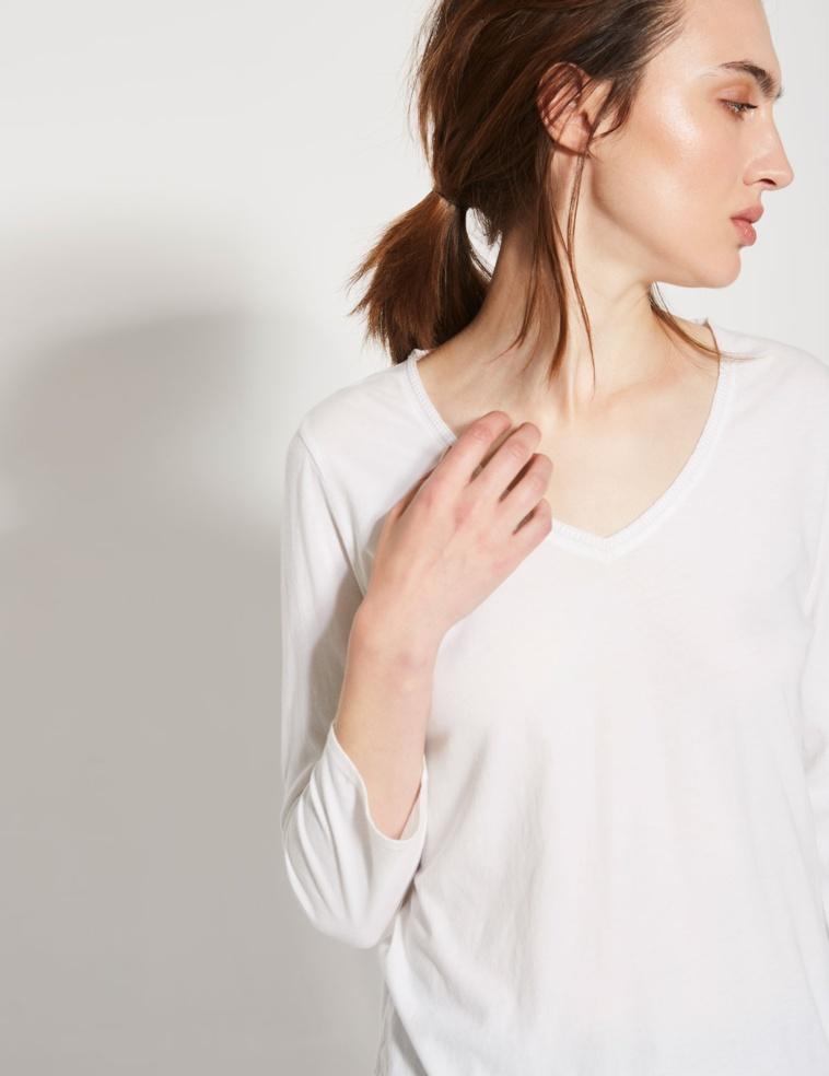 T-shirt brodé à détail