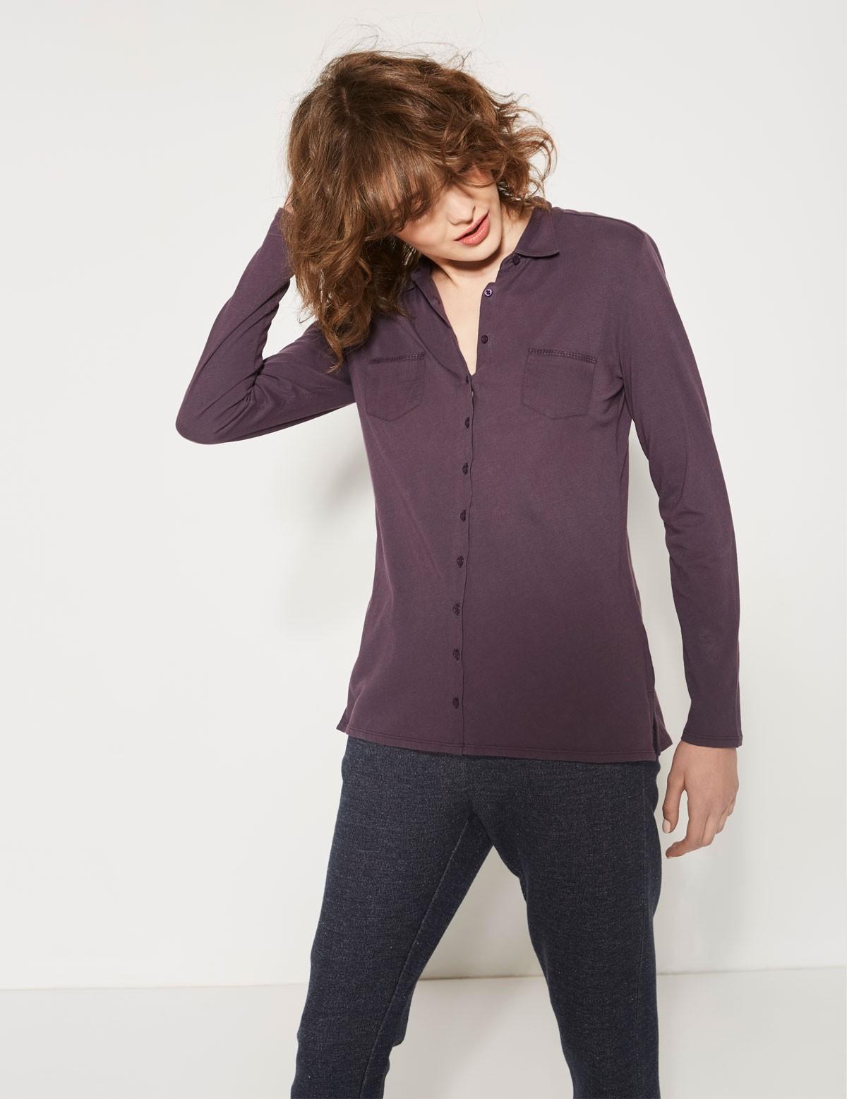 Camisa detalle bolsillos