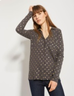 Camiseta estampado lunares - Ítem1
