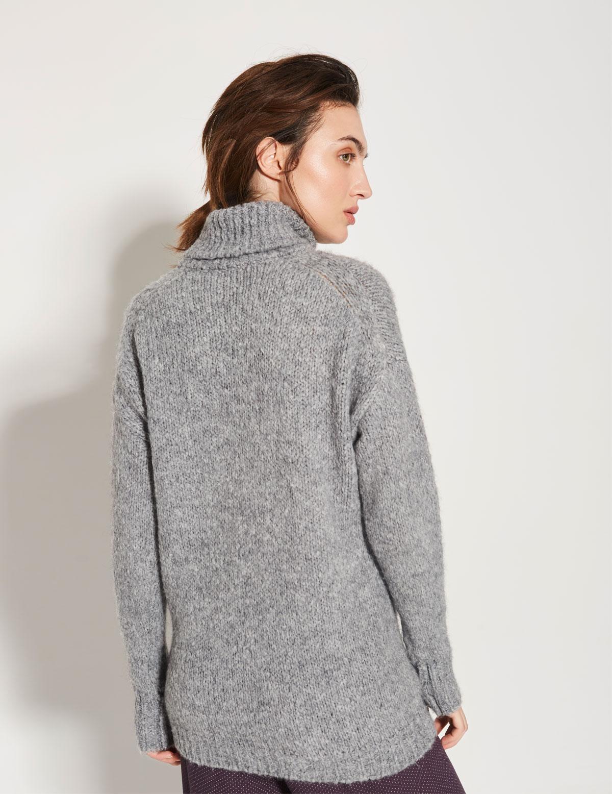Jersey cuello alto y bolsillo - Ítem2