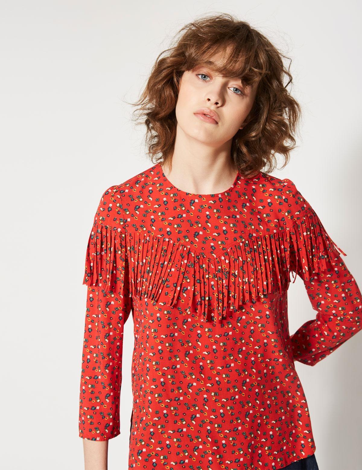 Falda cinturilla elástica floral - Ítem2