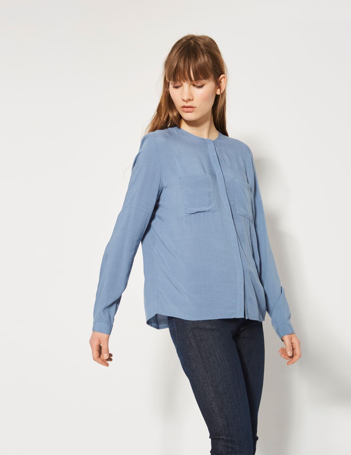 Camisa pinzas en espalda - Ítem1