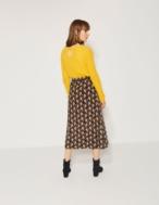 Falda midi estampado geométrico - Ítem2