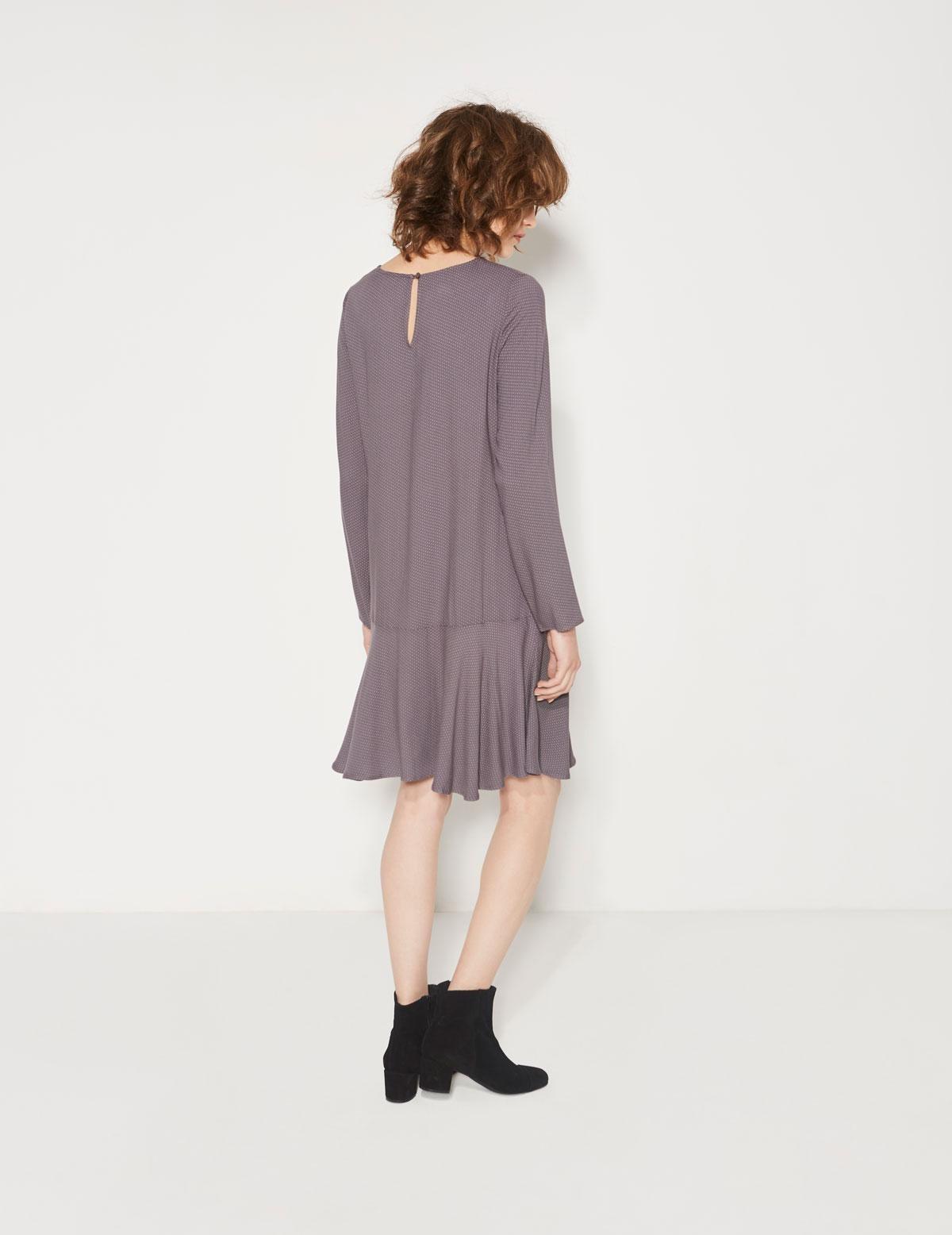 Vestido con falda volante - Ítem2