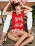 Camiseta estampado bandana - Ítem1