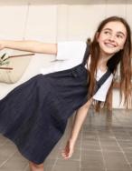 Vestido pichi tejano - Ítem1