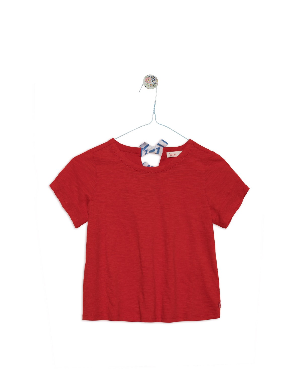Camiseta espalda anudada
