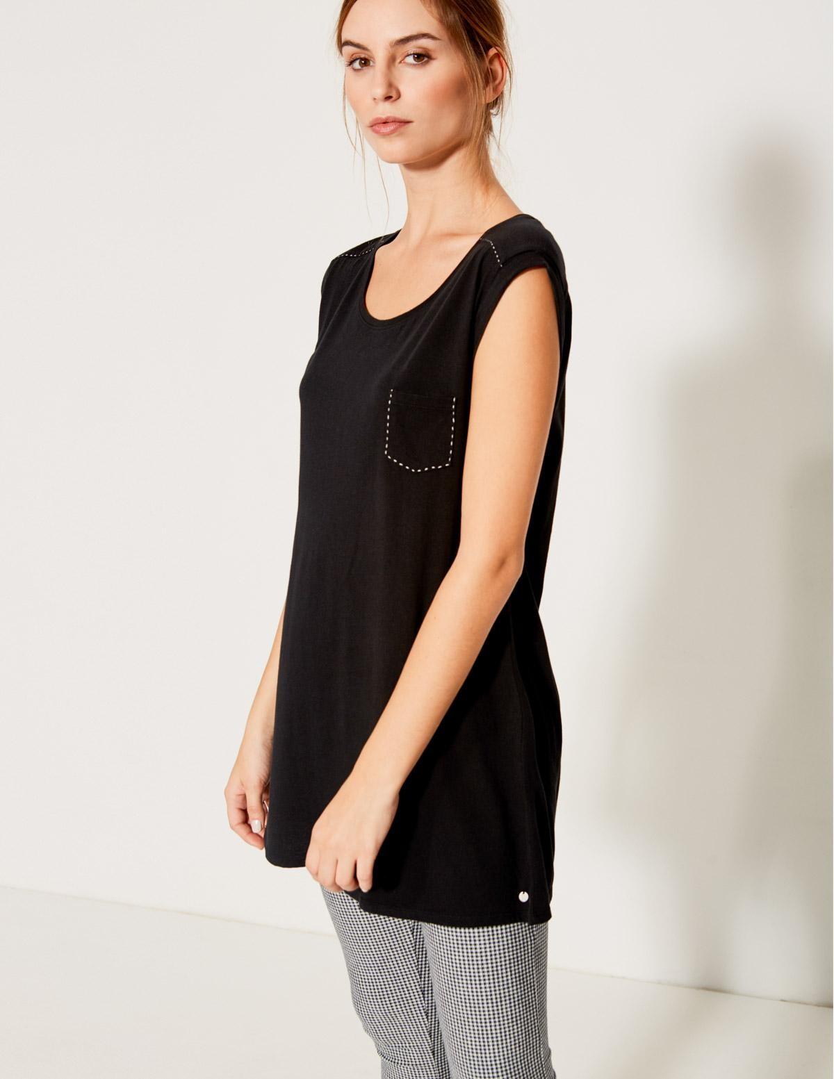 Camiseta extra larga - Ítem1