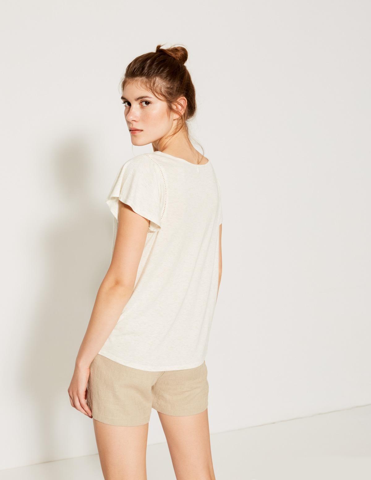 Camiseta melange brillos - Ítem2