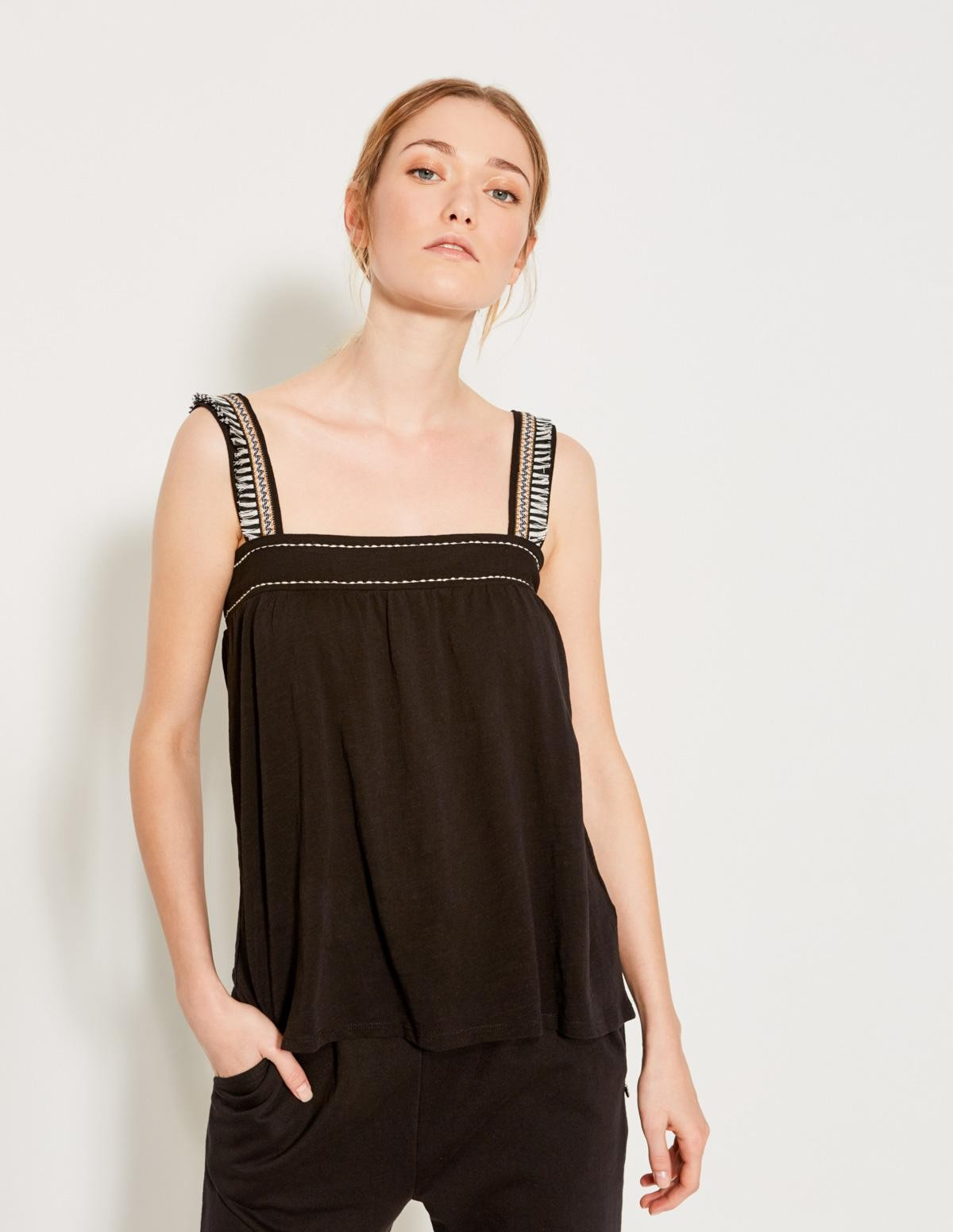Camiseta cinta jacquard - Ítem1