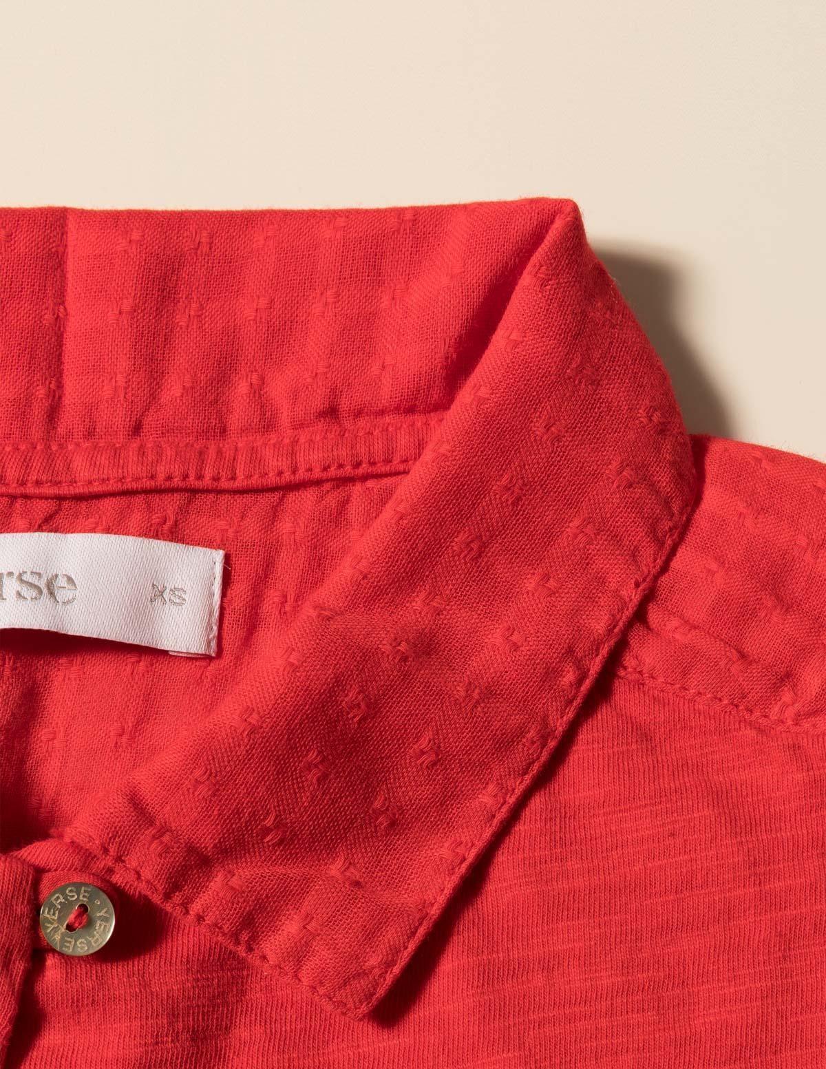 Camisa canesú texturado - Ítem3