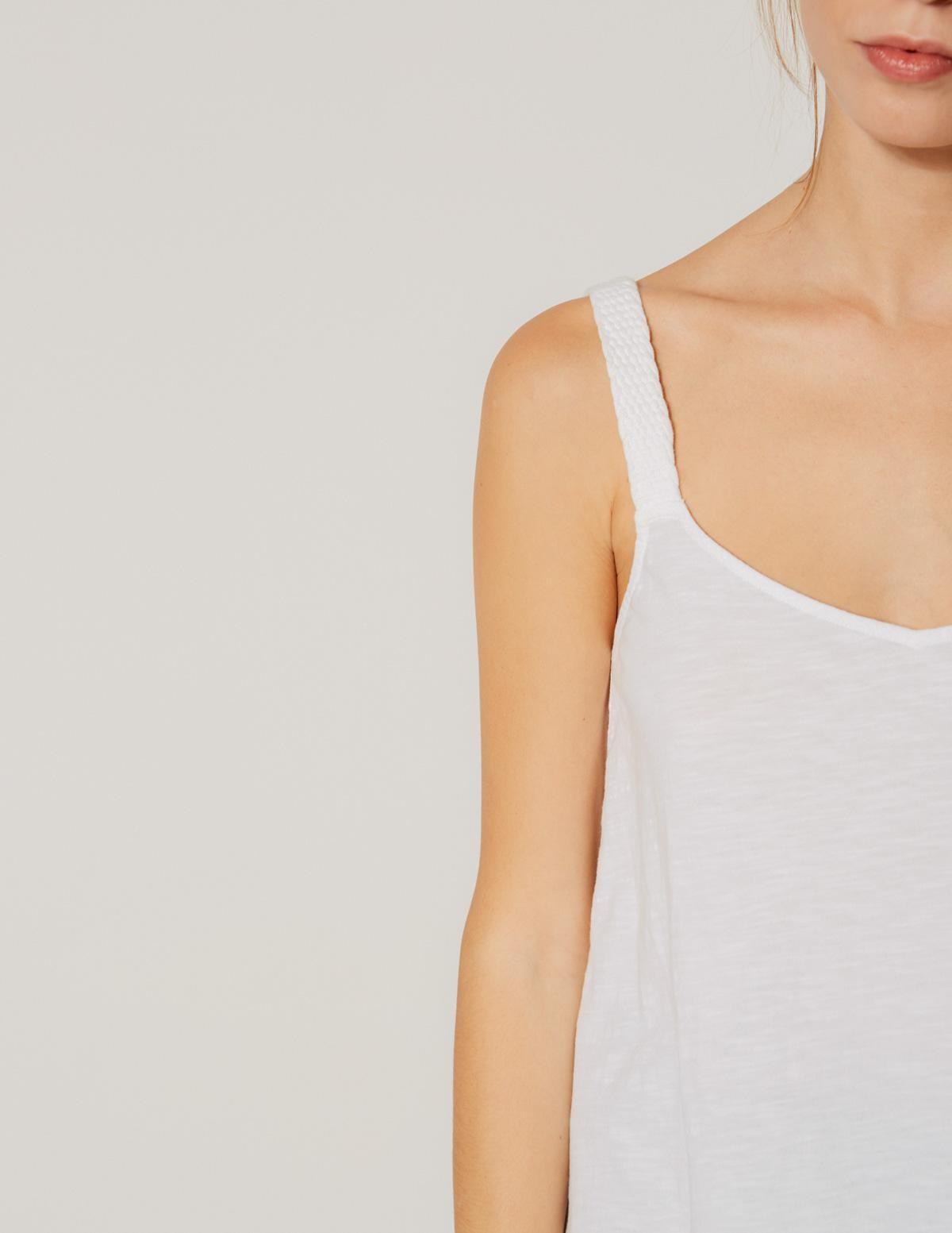 Camiseta tirantes trenzados - Ítem1