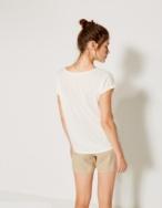 Camiseta rayas y puntilla - Ítem2