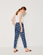 Pantalón floral - Ítem1