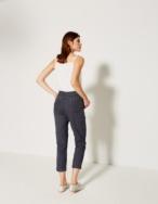 Pantalón tobillero rayas - Ítem2