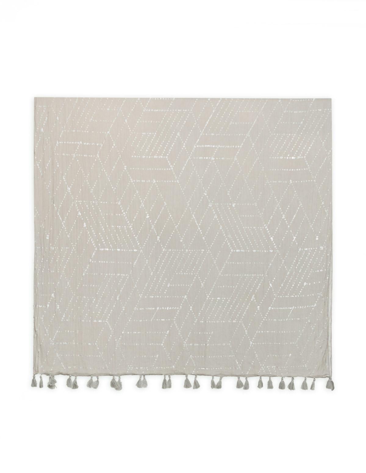 Pañuelo estampado geométrico - Ítem1