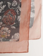 Pañuelo seda flores - Ítem2