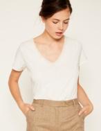 Camiseta escote crochet - Ítem