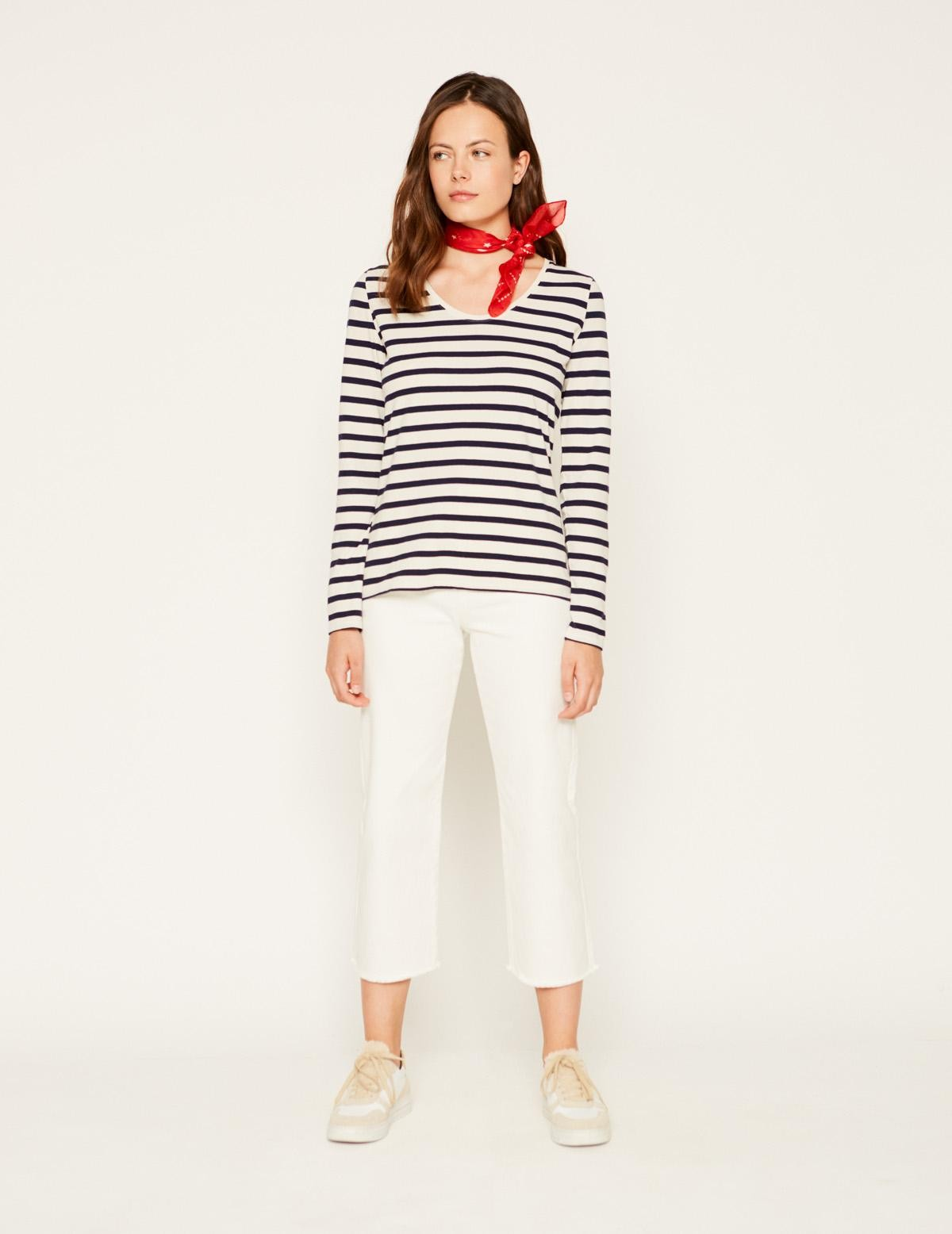 Camiseta rayas marineras - Ítem1