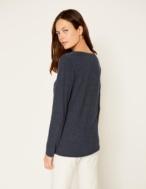 Camiseta escote brillo - Ítem1