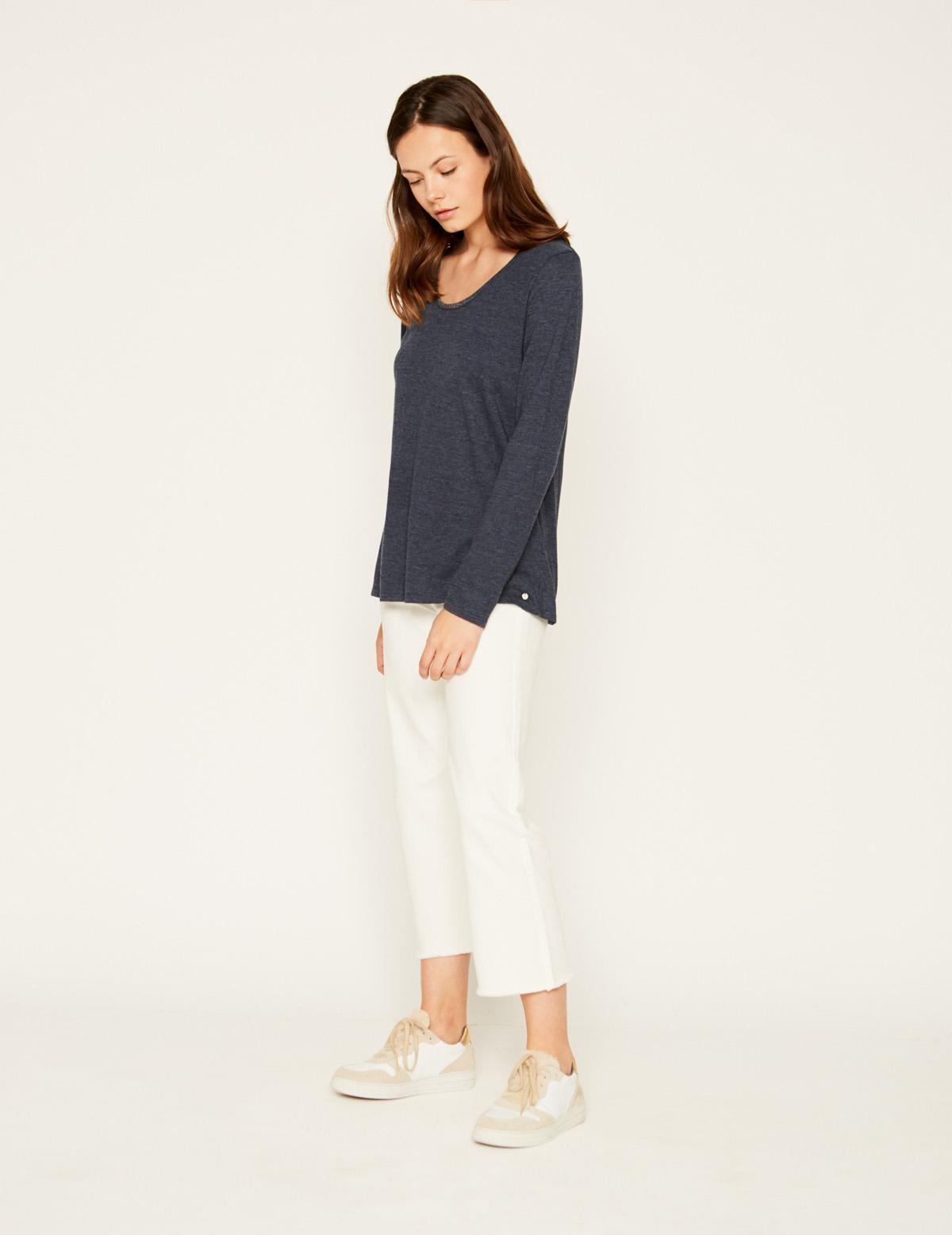 Camiseta escote brillo - Ítem2