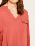 Camiseta tejido combinado - Ítem2