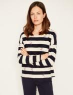 Embroidered sailoring sweatshirt