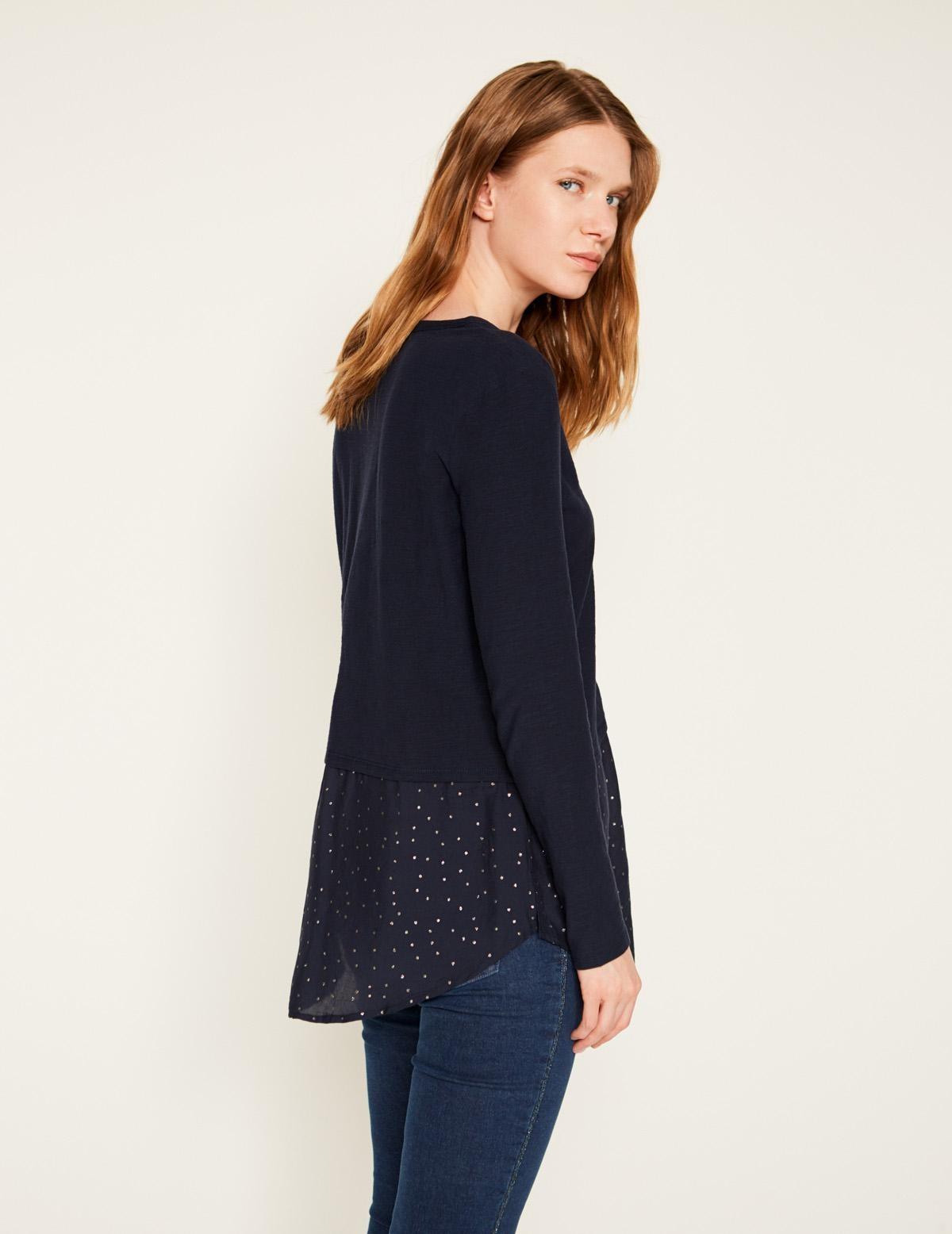 Camisa bimateria - Ítem1