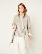 Long plush jacket