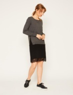 Vestido con puntilla - Ítem2