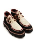 Boots fleece detail