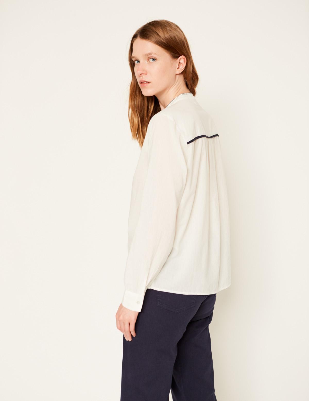 Camisa pespunte contraste - Ítem2