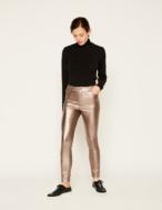 Pantalón pitillo metalizado - Ítem