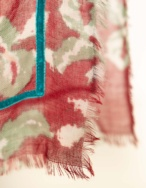 Pañuelo estampado flores - Ítem1