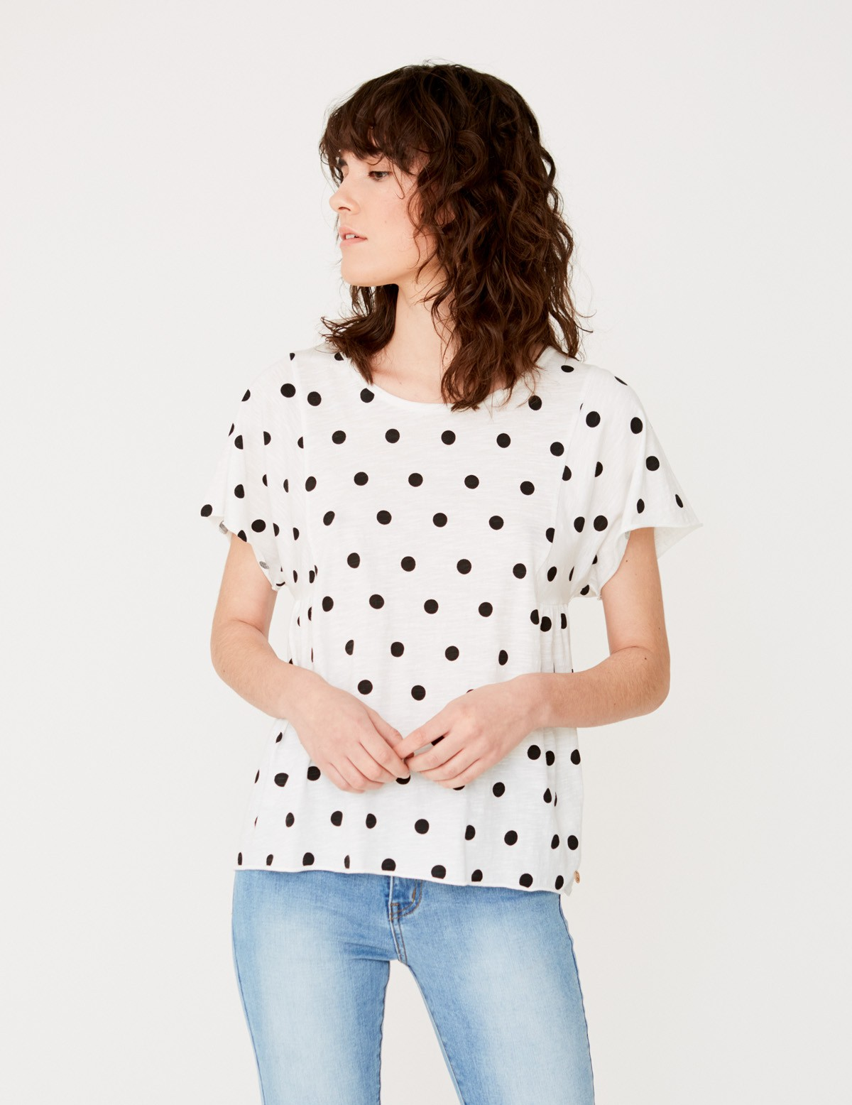 Camiseta topos algodón orgánico
