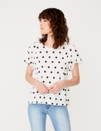 Camiseta topos algodón orgánico - Ítem
