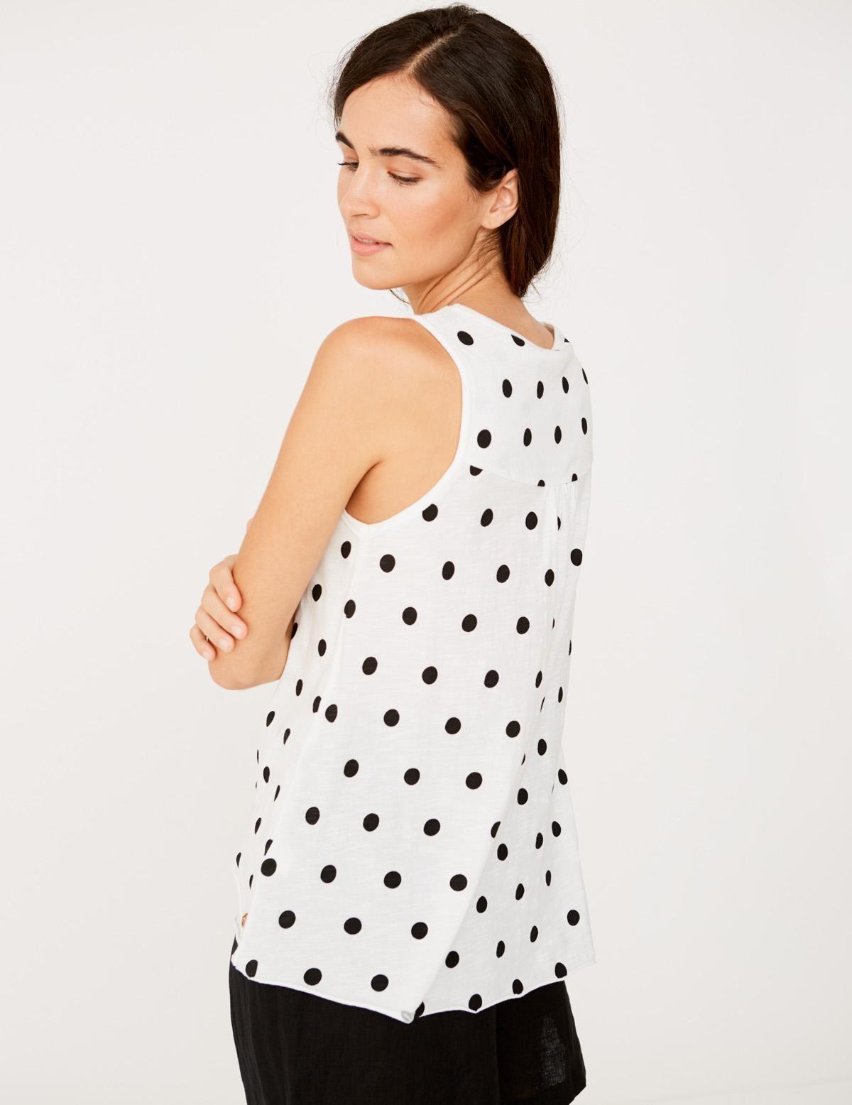 Camiseta topos algodón orgánico - Ítem1