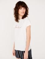 Camiseta bordada algodón orgánico - Ítem1