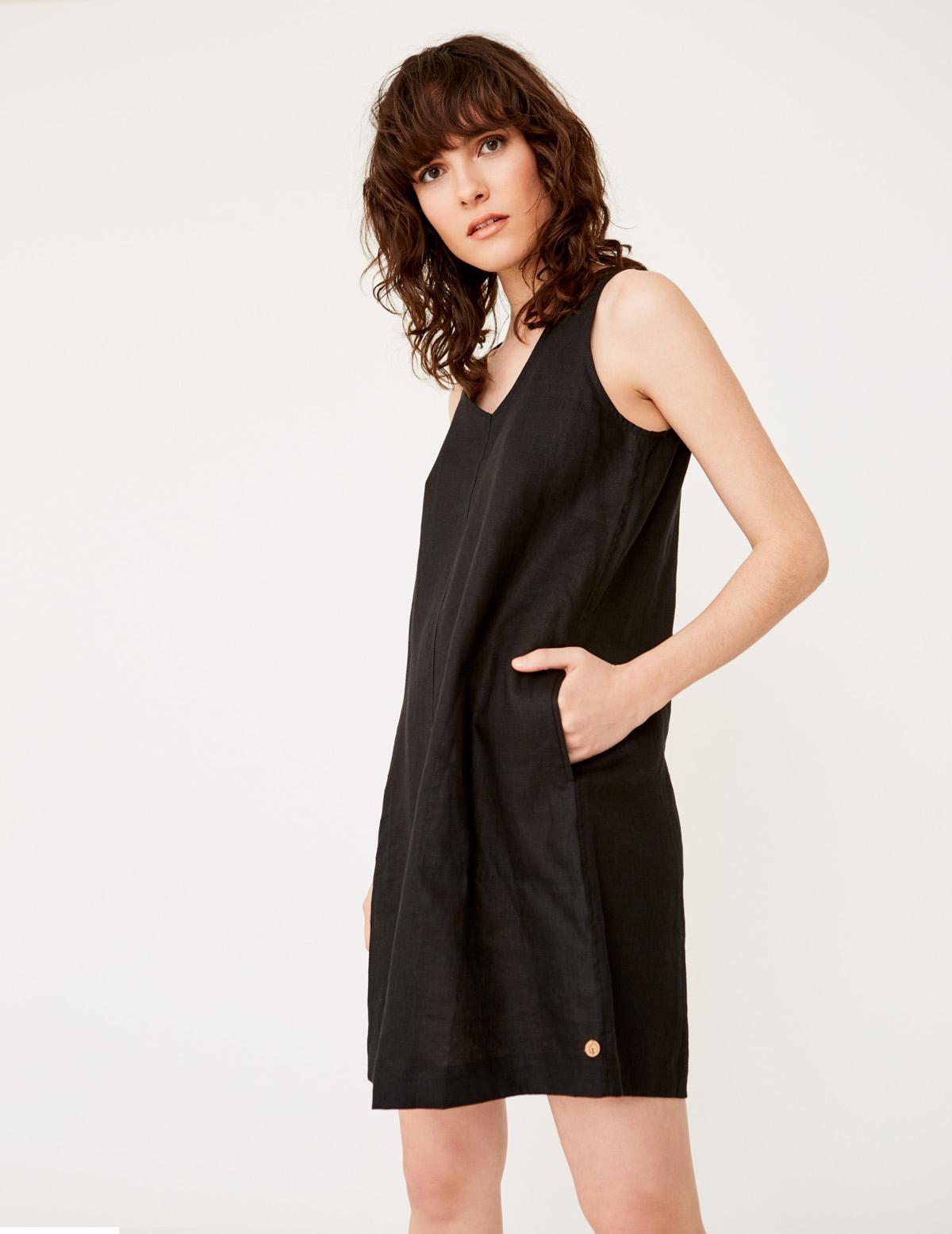 Vestido lino orgánico - Ítem1