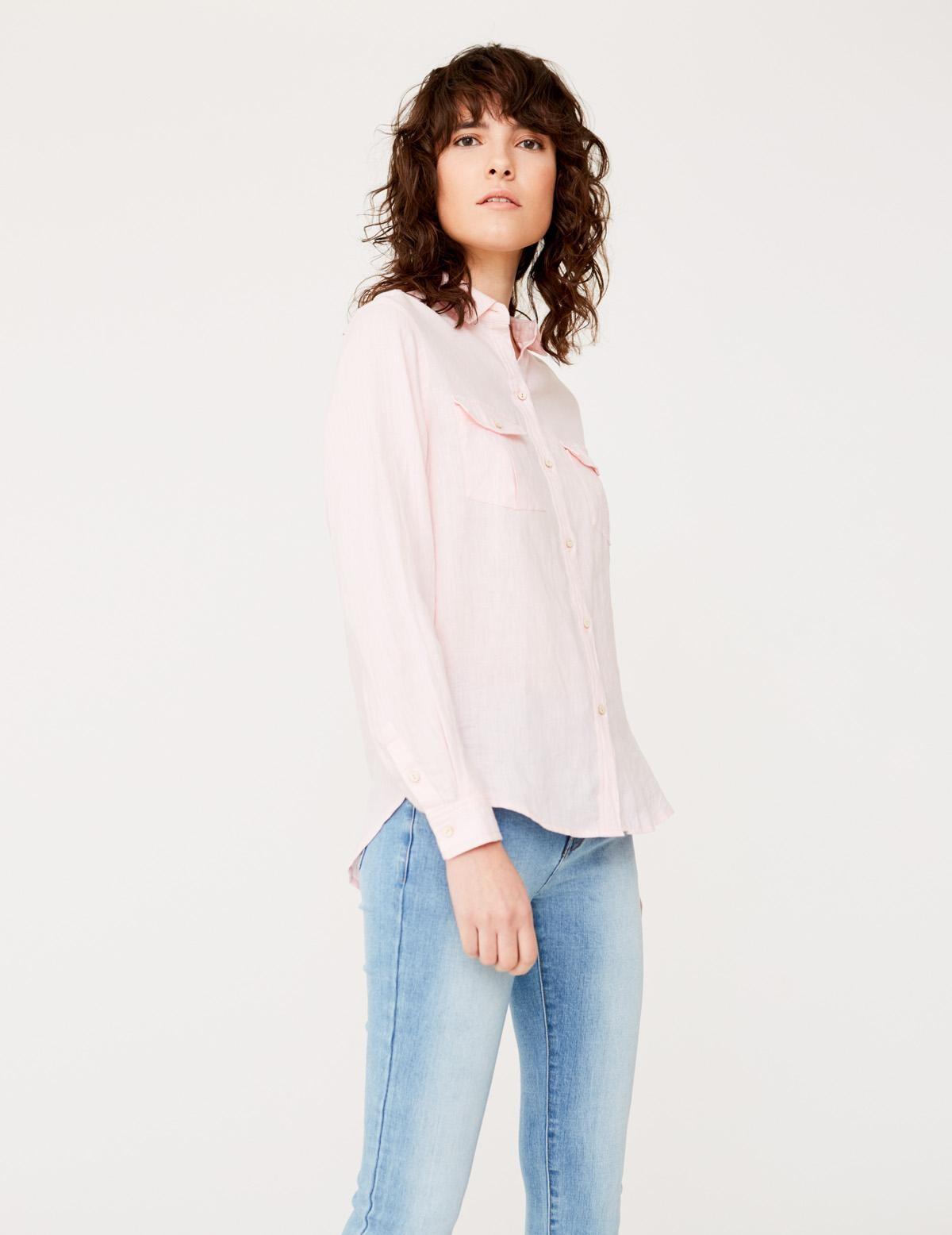 Camisa lino orgánico - Ítem1